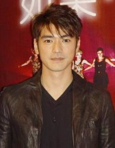 Perhaps Love premiere with Takeshi Kaneshiro with his short hairstyle