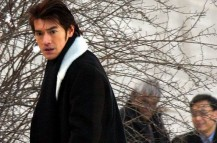 Takeshi Kaneshiro in Parhaps Love with his serious look