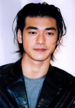 Sexy messy looking Takeshi Kaneshiro image