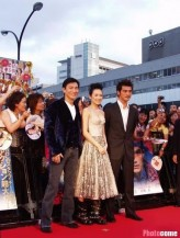 Takeshi Kaneshiro on red carpet premiere for House of Flying Daggers