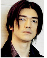 Takeshi Kaneshiro with funky hairstyle with very long side bangs.PNG