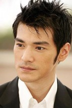 Takeshi Kaneshiro with spiky short hair_he is so handsome